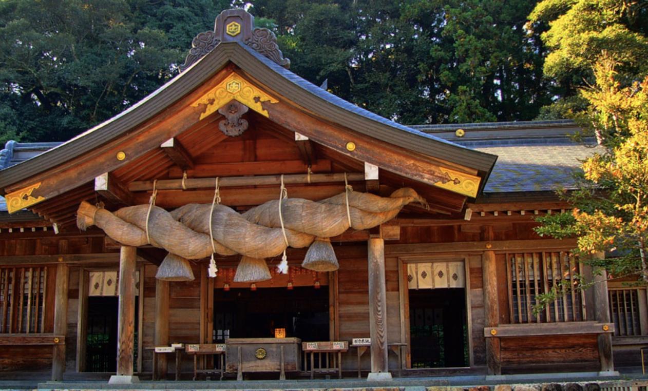 日本を代表する神社出雲大社